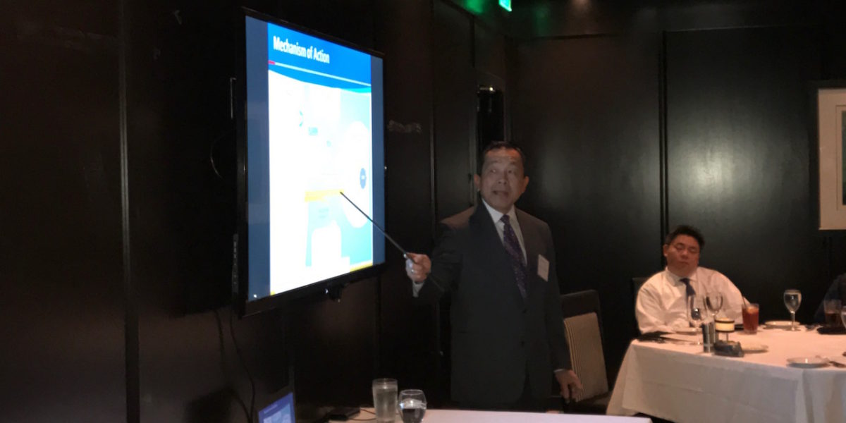 Truong-Sinh Leduc, MD Addresses Treatment of Chronic Hepatitis B